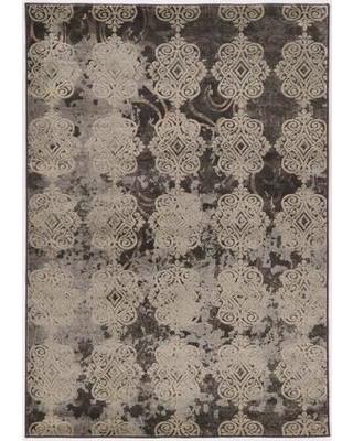 """Bungalow Rose Pasho Beige/Black Area Rug BNGL7056 Rug Size: Rectangle 8' x 10'4"""""""