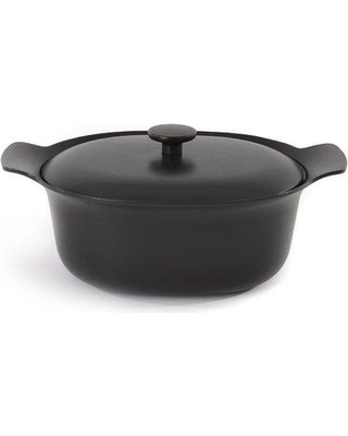 BergHOFF Ron Oval Covered Casserole 3900039 Color: Black