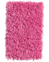 Home Decorators Collection Ultimate Shag Hot Pink 6 ft. x 9 ft. Area Rug