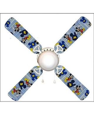 "888 Cool Fans 42"" Mickey Mouse 4 Blade Ceiling Fan Light Kit Included F42-0001067"