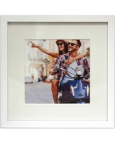 Frame - White - 12x12 Matted for 8x8 Photo - Room Essentials