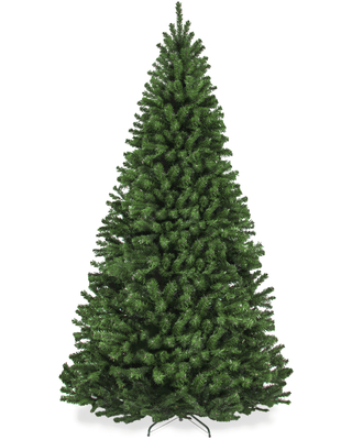 Best Choice Products 9ft Premium Spruce Artificial Christmas Tree w/ Easy Assembly, Metal Hinges & Foldable Base - 9ft