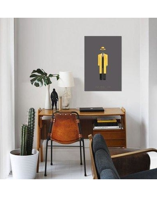 "East Urban Home 'Famous Hollywood Costumes Series: Dick Tracy' Graphic Art Print on Canvas ESUR5592 Size: 60"" H x 40"" W x 1.5"" D"