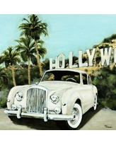 Brayden Studio 'Hollywood' Painting Print on Canvas BYST3473