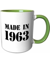 Find Deals On Symple Stuff Moton Made In 1963 Funny Birthday Birth Year Text Fun Bday Stamp W Year You Were Born Humor Coffee Mug Ceramic In Yellow Wayfair