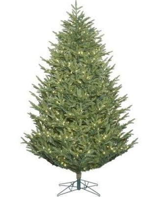 The Holiday Aisle 6.5' Fir Artificial Christmas Tree with 700 Warm White LED Lights THLY1178