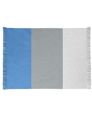 East Urban Home Tennessee Football Gray/Blue Area Rug FCJK0403 Backing: Yes