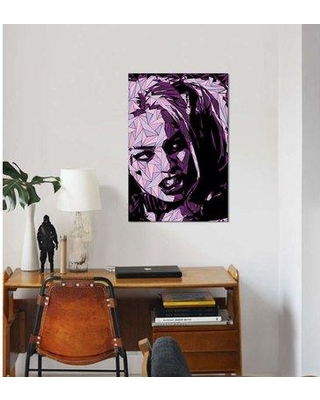 """East Urban Home 'Harley Quinn' Graphic Art Print on Canvas EBHS6862 Size: 18"""" H x 12"""" W x 1.5"""" D"""