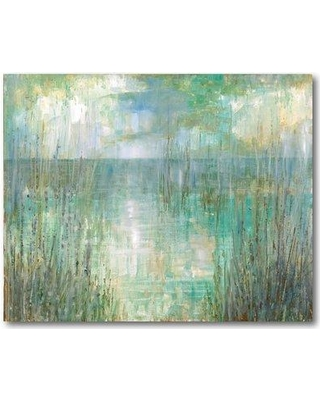 """Highland Dunes 'Morning Reflection' Print on Wrapped Canvas HLDS6439 Size: 30"""" H x 40"""" W"""