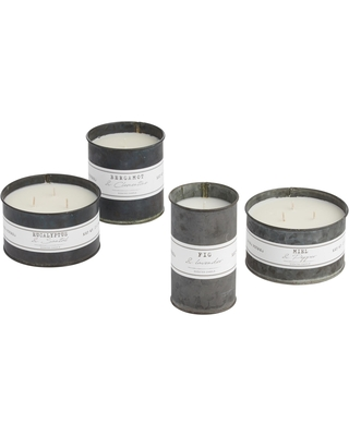 Antique Oil Tin Scented Candle Collection by World Market