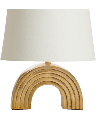 Gold Rainbow Accent Lamp Base - Metal by World Market