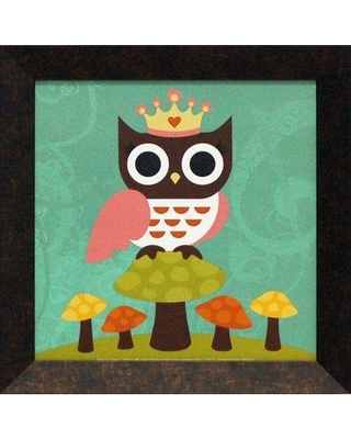 Artistic Reflections Princess Owl by Lee Nancy Framed Graphic Art Im027