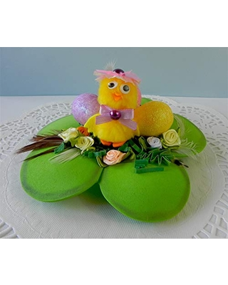 Easter decorations, Easter ornament, Easter basket, Easter chicks, Easter eggs in basket, Home decor, Easter chicken, Easter Chicken Nest, Easter Gifts