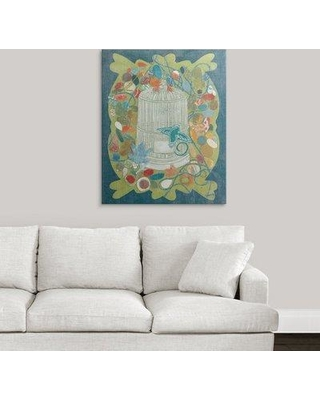 """Great Big Canvas 'Im Home II - Summer Green' Candra Boggs Graphic Art Print 2219260_1 Size: 36"""" H x 29"""" W x 1.5"""" D Format: Canvas"""