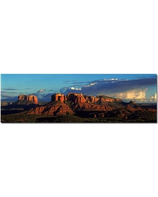 Trademark Art 'Canyon' by Preston Framed Photographic Print on Wrapped Canvas EM225-C Size: 10'' H x 32'' W x 2'' D