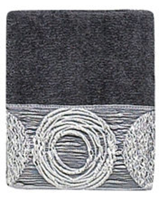 Avanti Galaxy Embellished Bath Towel Collection, One Size , Gray