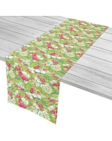"""Island Girl Home Tropical Key West Tropical Table Runner IGH-TR05 Size: 16"""" W x 90"""" L"""