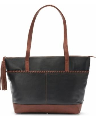 e191f26f3644 Can t Miss Bargains on Ili Leather Woven Tote