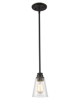 """Annora 428MP-OB 5.5"""" 1 Light Mini Pendant Contemporary Utilitarianhave Steel Frame with Olde Bronze finish in"""