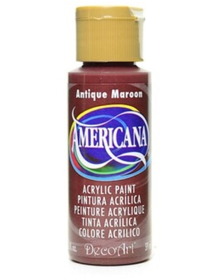 Decoart Americana Acrylic Paints Antique Maroon 2 Oz. [Pack Of 8] (8Pack DA160-3) | Quill