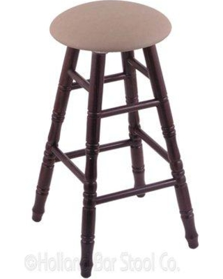 "Holland Bar Stool Swivel Upholsetered 36"" Bar Stool RC36 Finish: Dark Cherry Oak Upholstery: Rein Thatch"