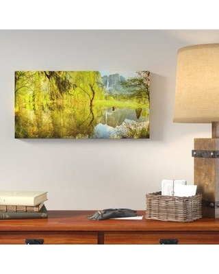 """Loon Peak 'Remembered' Photographic Print on Canvas LOPK8586 Size: 15"""" H x 30"""" W"""