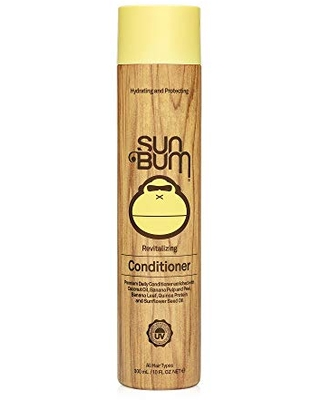Sun Bum Revitalizing Conditioner| Smoothing and Shine Enhancing |Paraben Free, Gluten Free, Vegan, UV Protection | Daily Conditioner for All Hair Types | 10 oz bottle