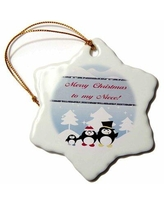 Check Out Deals On The Holiday Aisle Penguinland 3d Merry Christmas To My Niece Holiday Shaped Ornament Ceramic Porcelain In Green Size 3 H X 3 W Wayfair