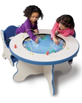 Playscapes Seascape Kids Round Play Table 15-SMT-100