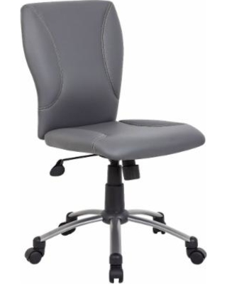 Boss Office Products B220-GY Tiffany CaressoftPlus Chair in Grey