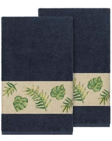 Bay Isle Home Styles Embellished Turkish Cotton Bath Towel BF111098 Color: Midnight Blue