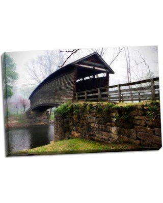 Millwood Pines 'Humpback Bridge II' Photographic Print on Wrapped Canvas BF046676
