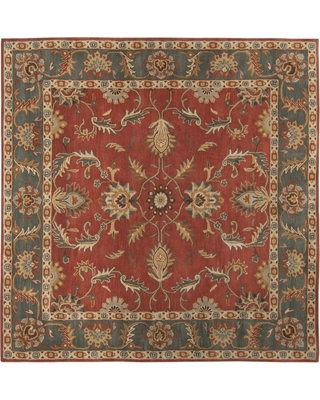 Artistic Weavers Chenni Burgundy (Red) 10 ft. x 10 ft. Square Indoor Area Rug