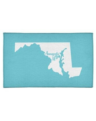 Get The Deal 30 Off East Urban Home Annapolis Maryland Poly Chenille Blue Area Rug Fcls3924 Rug Size Rectangle 2 X 3