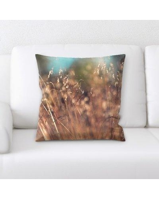The Best Sales For East Urban Home Blurred Out Throw Pillow Cj234803