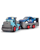Dickie Toys - Happy 25 Inch Truck And Trailer With 1 Car