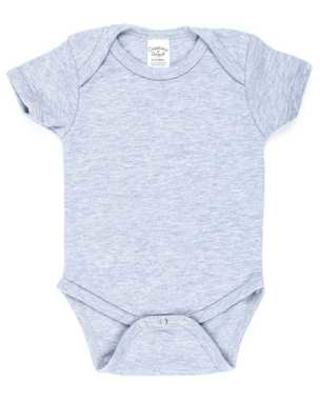 Heather Gray Infant Creeper - 6 - 12 Months