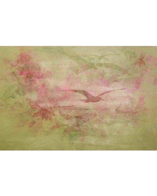 "Marmont Hill 'Never Too Hard' by Jennifer Jorgensen Painting Print on Wrapped Canvas ET-MWW-JEJ-9916-C- Size: 16"" H x 24"" W"