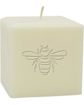 Carved Solutions Bumble Bee Unscented Pillar Candle EL3SC-Bee