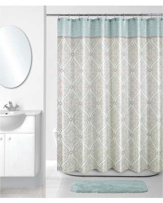 Balmoral Shower Curtain Ivory - Allure Home Creation