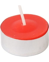 Jeco Inc. Citronella Tealight Candle CTC-00 Color: Red, Quantity: Set of 100