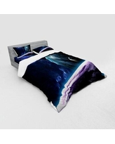 Find The Best Deals On East Urban Home Lake With Brush Effects Surreal Nature Elf Tranquil And Serene Art Print Duvet Cover Set Fckh7669 Size Queen Duvet Cover 3 Additional Pieces