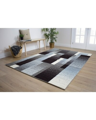 Can T Miss Bargains On Britton Geometric Brown Gray Rug Latitude Run Rug Size Rectangle 7 10 X 10 6