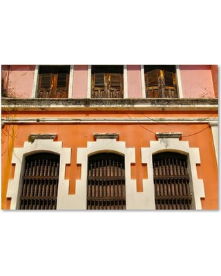 """Latitude Run Old San Juan 12 Photographic Print on Wrapped Canvas LTRN8156 Size: 12"""" H x 19"""" W x 2"""" D"""
