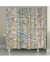 LauralHome Serene Branches Shower Curtain SEB74SC