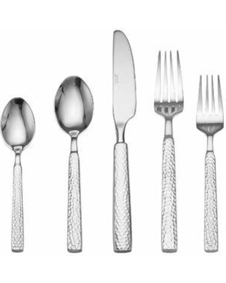 Towle Living Forged Lawton 20 Piece 18/10 Stainless Steel Flatware Set Service for 4 5226285