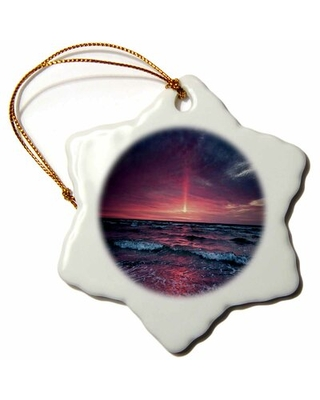 Print of Ocean Sunset Snowflake Holiday Shaped Ornament The Holiday Aisle®