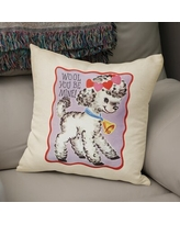 New Deal For Be Merry Throw Pillow By Kavka Designs 18 X 18