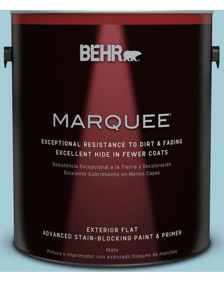BEHR MARQUEE 1 gal. #S460-2 Drip Flat Exterior Paint and Primer in One
