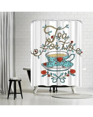 East Urban Home Patricia Pino Tea For Two Shower Curtain ETRC7431